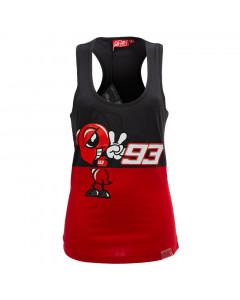 Marc Marquez MM93 Mascotte Ant ženska majica brez rokavov
