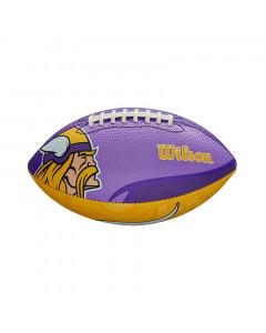 Minnesota Vikings Wilson Team Logo Junior žoga za ameriški nogomet