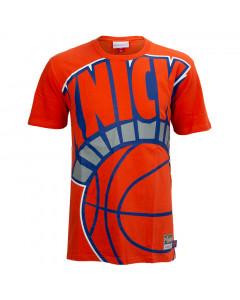 New York Knicks Mitchell & Ness Big Face T-Shirt
