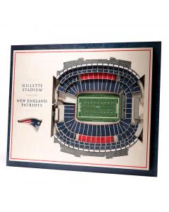 New England Patriots 3D Stadium View slika