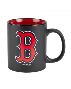 Boston Red Soxs Black Matte Two Tone Tasse