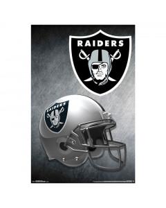 Las Vegas Raiders Team Helmet poster