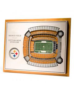 Pittsburgh Steelers 3D Stadium View Bild