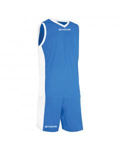 Givova KITB05-0203 Kit Power Basketball Komplet Trikot