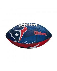 Houston Texans Wilson Team Logo Junior lopta za američki nogomet