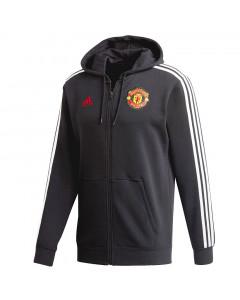 Manchester United Adidas 3S Kapuzenjacke