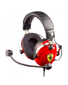 Thrustmaster T.Racing Scuderia Ferrari Edition Gaming Headset Multiforma slušalke z mikrofonom