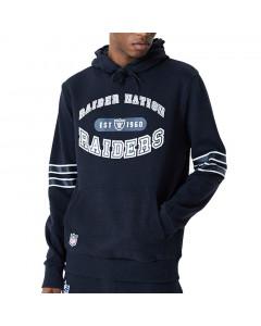 Las Vegas Raiders New Era Wordmark Graphic pulover sa kapuljačom