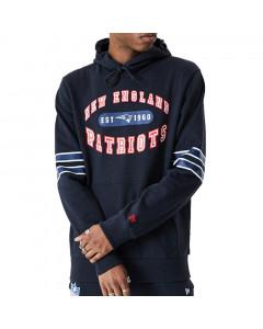 New England Patriots New Era Wordmark Graphic pulover sa kapuljačom