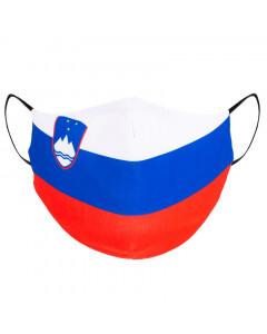 Slovenija zastava obrazna maska