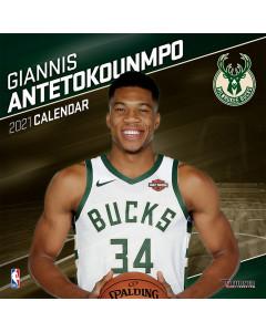 Giannis Antetokounmpo Milwaukee Bucks kalendar 2021