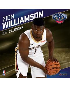 Zion Williamson New Orleans Pelicans  koledar 2021