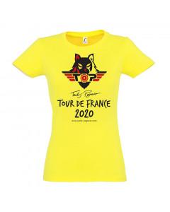 Tadej Pogačar Toure de France 2020 Champion Damen T-Shirt