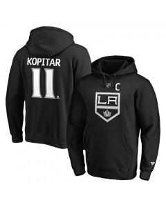 Anže Kopitar 11 Los Angeles Kings Iconic Name & Number Graphic Kapuzenpullover Hoody