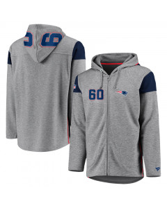 New England Patriots Iconic Franchise Full Zip jopica s kapuco