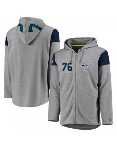 Seattle Seahawks Iconic Franchise Full Zip majica sa kapuljačom