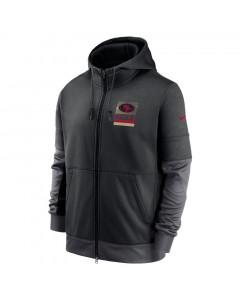 San Francisco 49ers Nike Lockup Therma Full Zip jopica s kapuco
