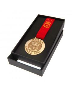 Liverpool FC Istanbul 2005 replika medalja