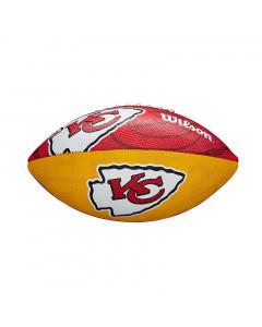 Kansas City Chiefs Wilson Team Logo Junior lopta za američki nogomet