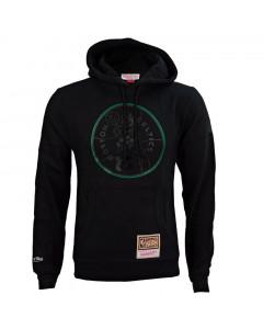 Boston Celtics Mitchell & Ness Logo Pop pulover s kapuco