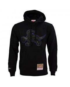 Toronto Raptors Mitchell & Ness Logo Pop pulover sa kapuljačom