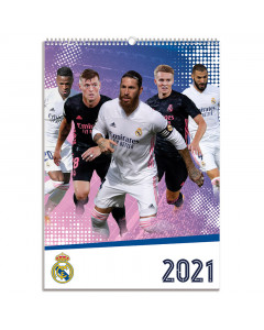 Real Madrid kalendar 2021