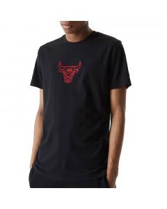 Chicago Bulls New Era Chain Stitch T-Shirt