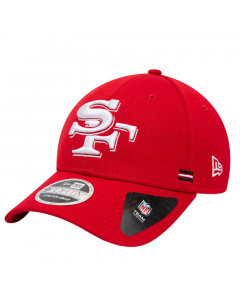 San Francisco 49ers New Era 9FORTY NFL 2020 Sideline Home Stretch Snap Mütze