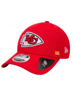 Kansas City Chiefs New Era 9FORTY NFL 2020 Sideline Home Stretch Snap kapa