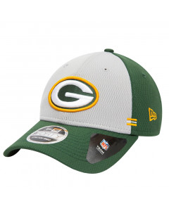 Green Bay Packers New Era 9FORTY NFL 2020 Sideline Home Stretch Snap kapa