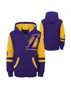 Los Angeles Lakers Straight To The League otroška jopica s kapuco