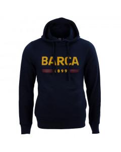 FC Barcelona Star pulover s kapuco