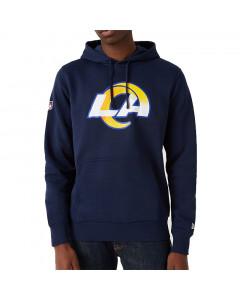 Los Angeles Rams New Era Team Logo PO pulover sa kapuljačom
