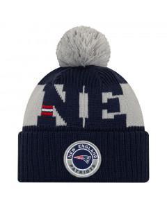 New England Patriots New Era NFL 2020 Official Sideline Cold Weather Sport Knit zimska kapa
