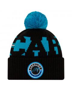 Carolina Panthers New Era NFL 2020 Official Sideline Cold Weather Sport Knit zimska kapa
