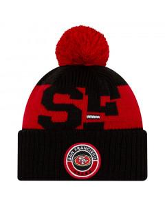 San Francisco 49ers New Era NFL 2020 Official Sideline Cold Weather Sport Knit zimska kapa