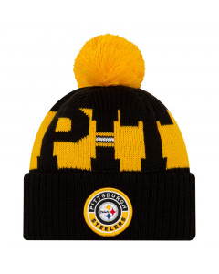 Pittsburgh Steelers New Era NFL 2020 Official Sideline Cold Weather Sport Knit zimska kapa