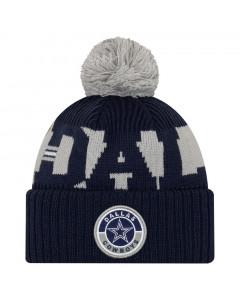 Dallas Cowboys New Era NFL 2020 Official Sideline Cold Weather Sport Knit zimska kapa