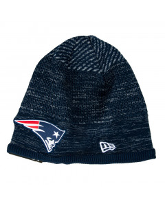 New England Patriots New Era NFL 2020 Sideline Cold Weather Tech Knit zimska kapa