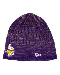 Minnesota Vikings New Era NFL 2020 Sideline Cold Weather Tech Knit zimska kapa
