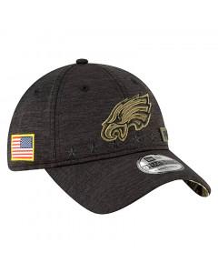 Philadelphia Eagles New Era 9TWENTY NFL 2020 Official Salute to Service Mütze