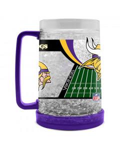 Minnesota Vikings Crystal Freezer krigla 475 ml