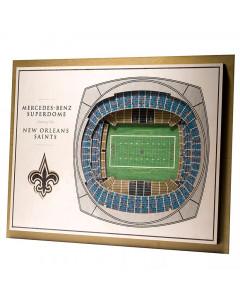 New Orleans Saints 3D Stadium View Bild