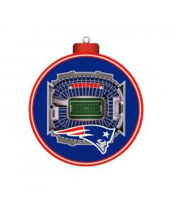 New England Patriots 3D Stadium View obesek za smreko
