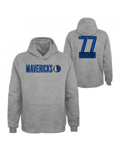 Luka Dončić Dallas Mavericks pulover s kapuco