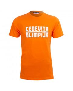 KK Cedevita Olimpija majica Oranžna