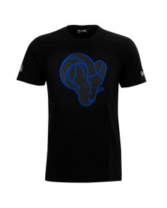 Los Angeles Rams New Era QT Outline Graphic majica