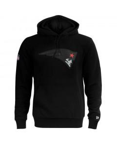 New England Patriots New Era QT Outline Graphic pulover sa kapuljačom