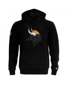 Minnesota Vikings New Era QT Outline Graphic pulover sa kapuljačom
