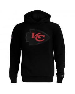 Kansas City Chiefs New Era QT Outline Graphic pulover s kapuco